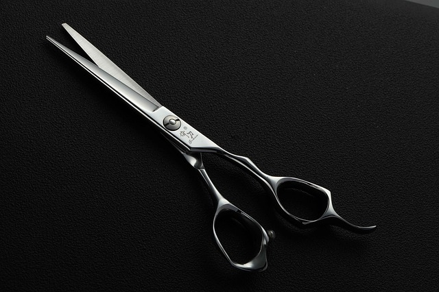 mustache scissors